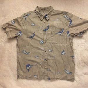 Columbia Swordfish Fishing Shirt Mens XL